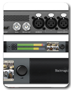 Audio Monitoring BlackMagic